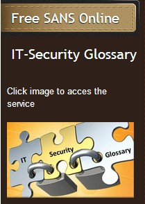 SANS IT-Security GLOSSARY