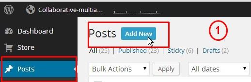 New Blog Post With WordPress-1
